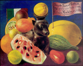 Still Life (For Samuel Fastlicht), 1951 Private Collection, Courtesy of Caleria Arvil, Mexico © 2015 Banco de México Diego Rivera Frida Kahlo Museums Trust Mexico, D.F. / Artists Rights Society (ARS), New York